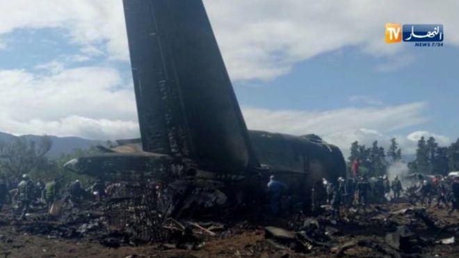 В авиакатастрофе Ил-76 в Алжире погибли 257 человек