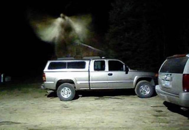 В Мичигане камера наблюдения засняла Ангела?
